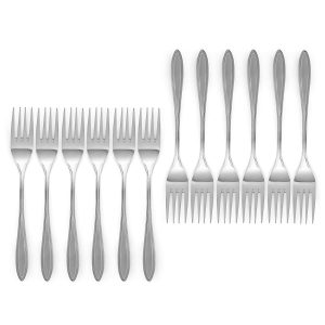 Royal 20-Piece Flatware Set, 18/10 Stainless Steel,