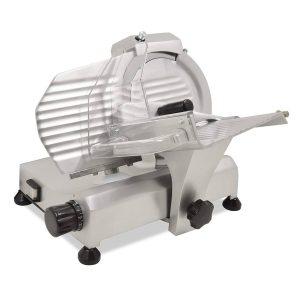 Nella Carbon Steel Blade Belt-Driven Meat Slicer, 8″ / 195 mm Blade, 0.20 hp