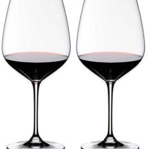 Riedel Heart to Heart Cabernet Sauvignon Glasses, Set of 2                                                                                                                             ——————————————————————————–                                      Riedel Heart to Heart Cabernet Sauvignon Glasses, Set of 2