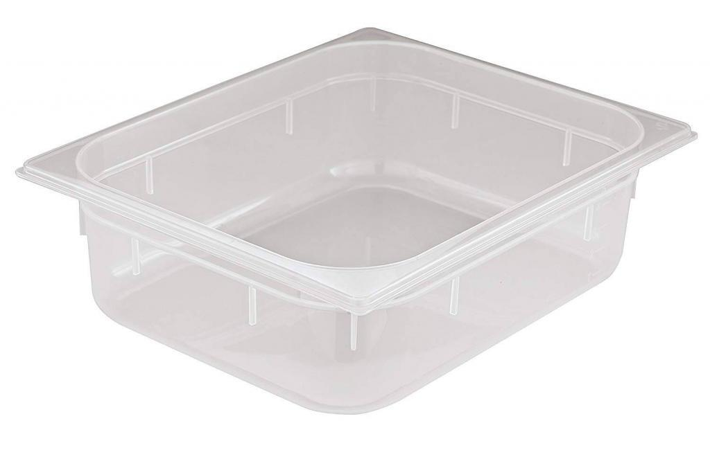 World Cuisine Paderno 12 3/4 inches by 6 1/4 inches Polypropylene Hotel Food Pan – 1/4 (depth: 4 inches)