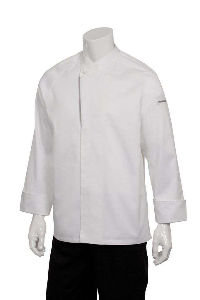 Chef Works Men's Trieste Executive Chef Coat (ECRO)