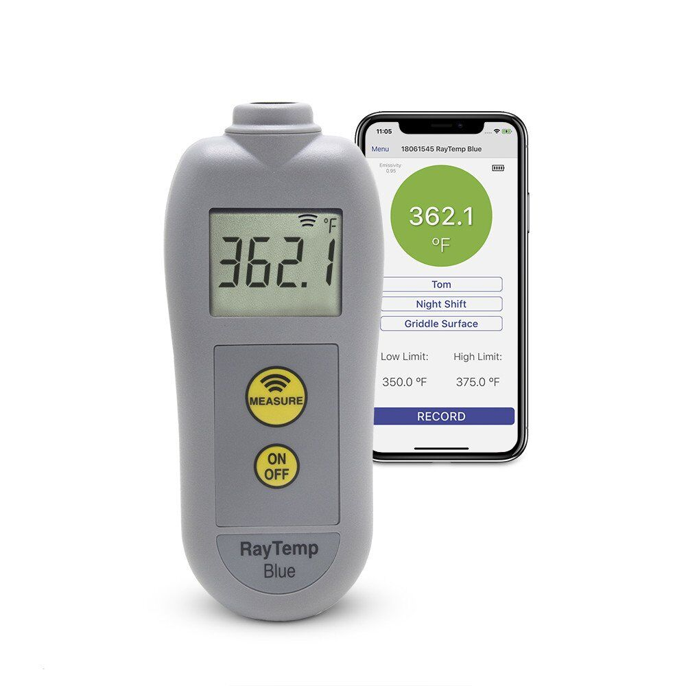 RayTemp Blue – Bluetooth Infrared Thermometer