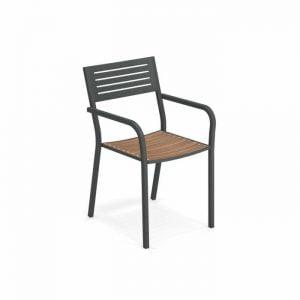 Segno/Teak Arm Chair