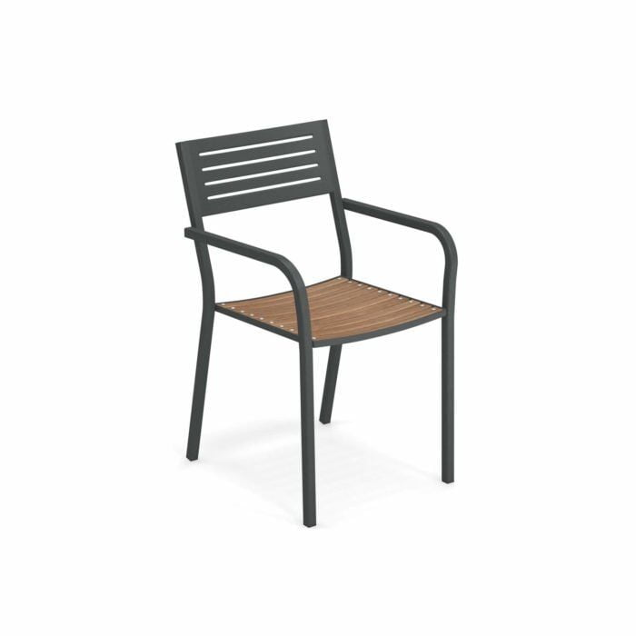 Segno/Teak Arm Chair – emu