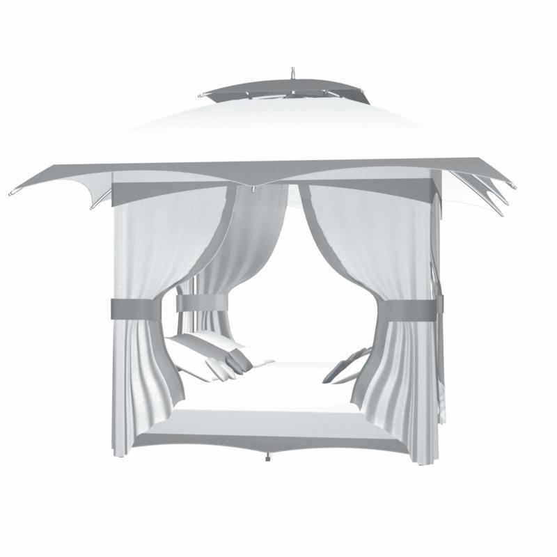 TUUCI Crescent Outdoor Lounge