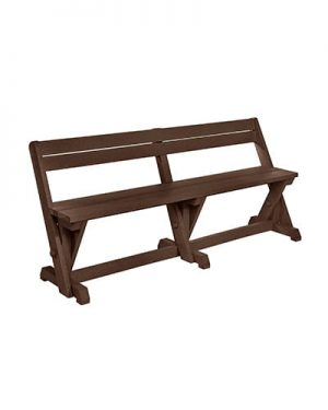 Dining Table Bench With Back