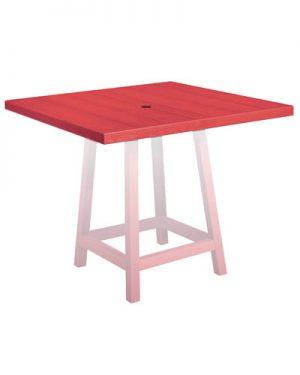 40'' Square Pub Table Top
