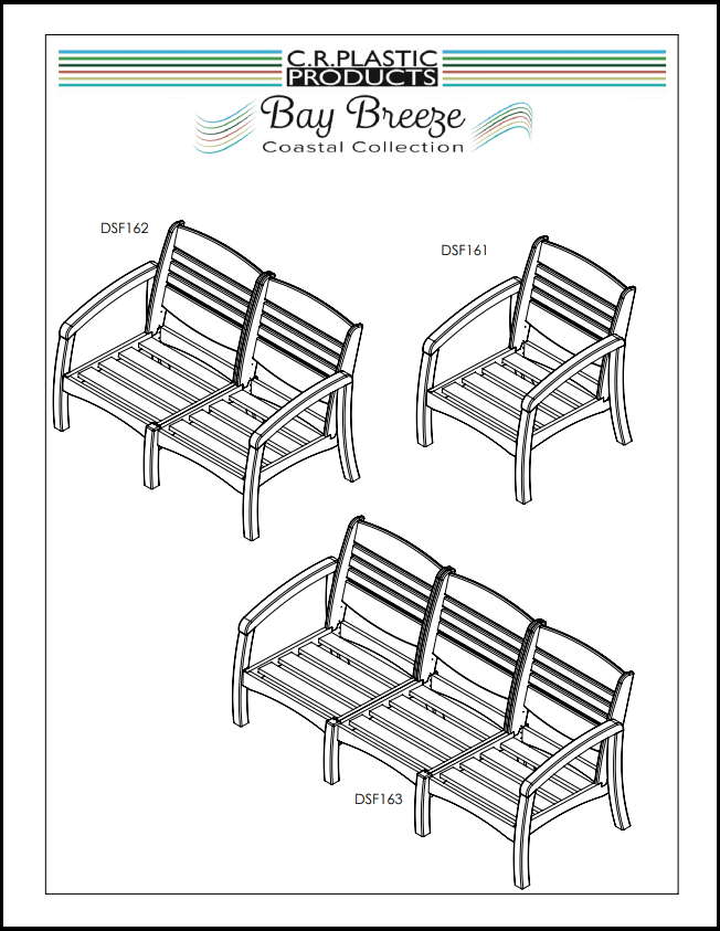 Bay Breeze Chair Frame