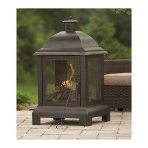Outdoor Steel Fireplace