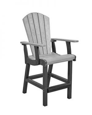 Classic Pub Arm Chair Counter Height