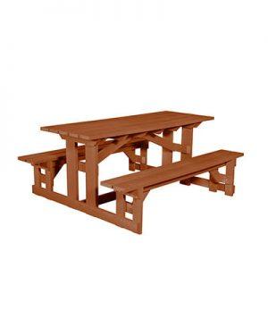 Rectangular Picnic Table