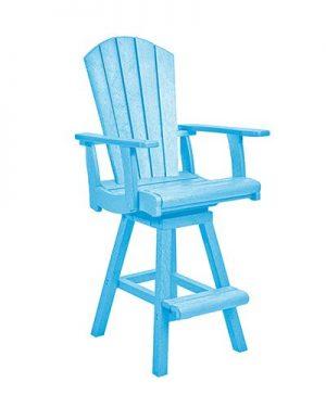 Swivel Pub Arm Chair