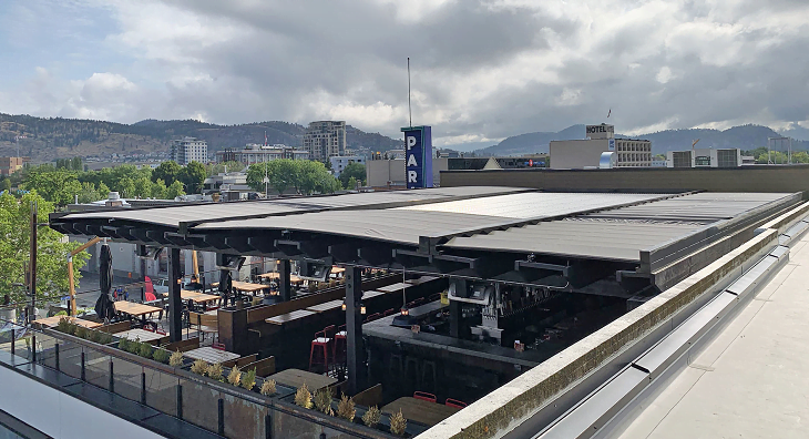 Motorized Retractable Roofs